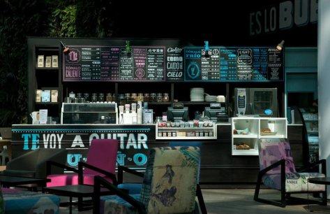 Cielito querido caf de mexicanos para mexicanos cinabrio for Disenos para cafeterias